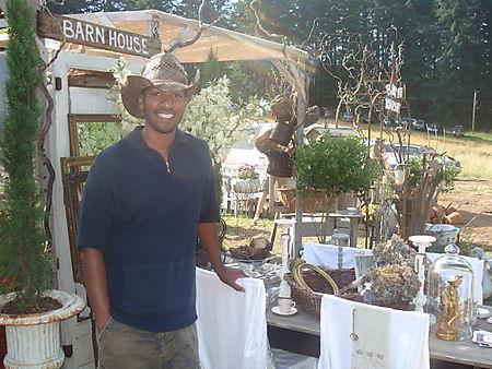 Jermonne of Barn House BH Flea Market july 2008