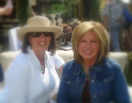 Krista Colvin + Tracey Buxton @Barn House Flea Market july 08