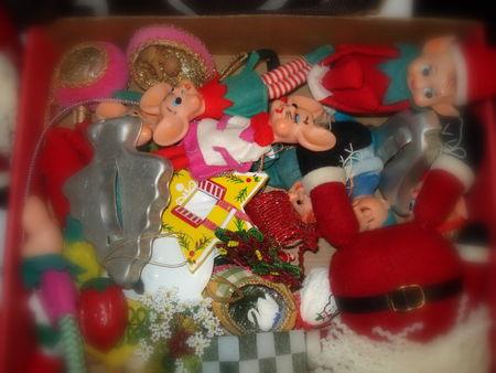 Family fav holiday ornaments