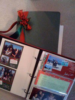 Christmas card albums