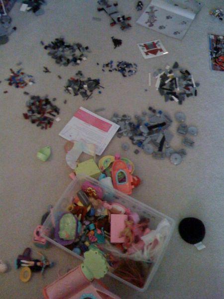 Christmas clutter