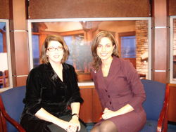 Krista Colvin with Jennifer Hogan KOIN6 news 1[1].2007