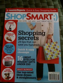 ShopSmart mag shot