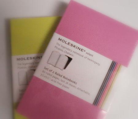 Moleskins-in color!