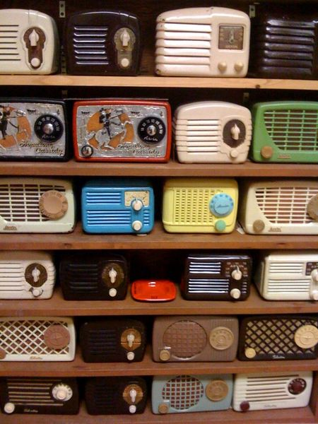 Collection radio
