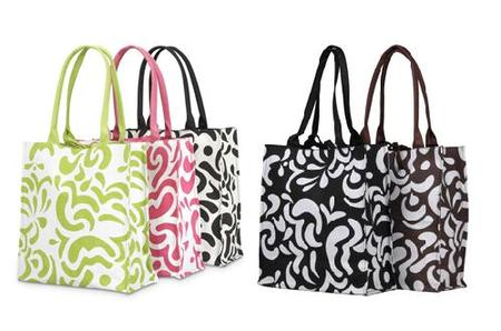 Market totes from Organized Parent