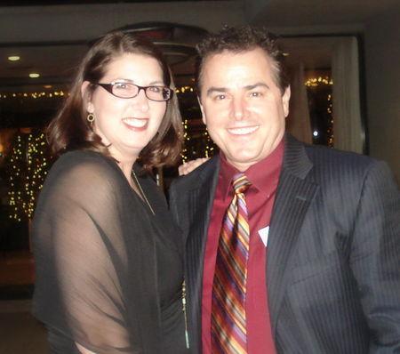 Organizing Awards 2009 Krista Colvin, Christopher Knight (yes Peter Brady)