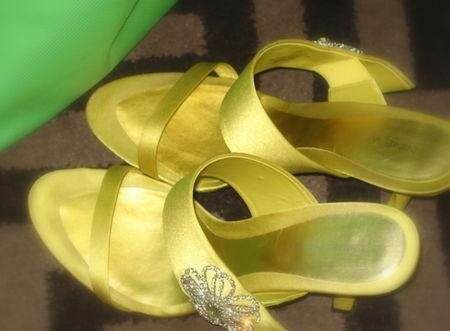 Organizing Awards 2009 my fabulous shoes...