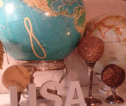 Barnhouse globe display