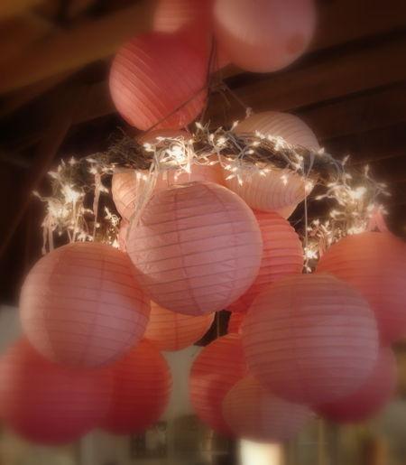 Queen of tarte pink chandelier