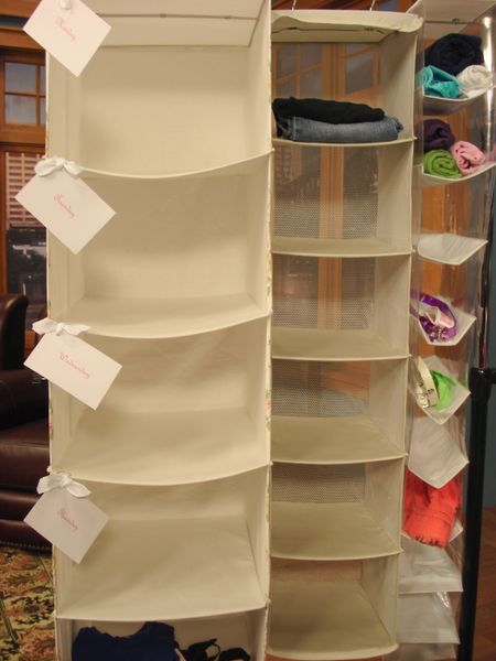 Organizing kids closets amnw hanging bags