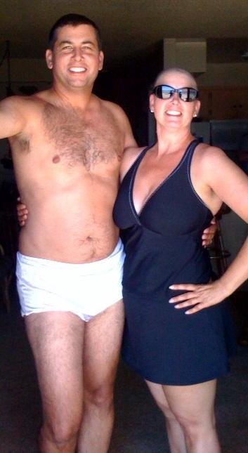 Eugene in big girl panties