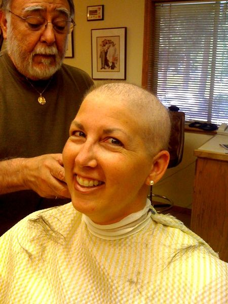 Krista colvin. bald barber shop