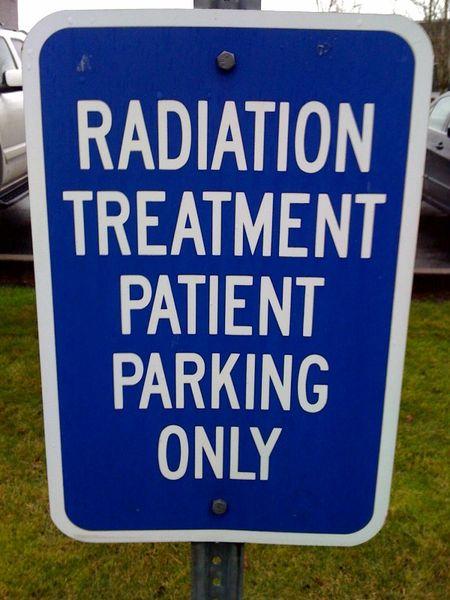 Radiation parking