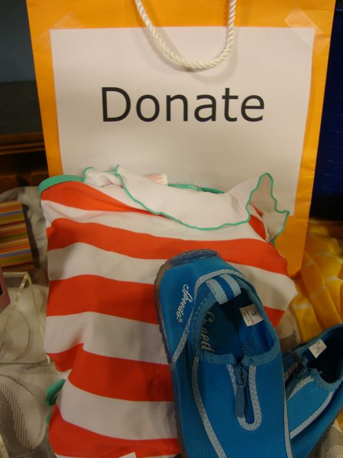 Summer Clothes.Donation Bag
