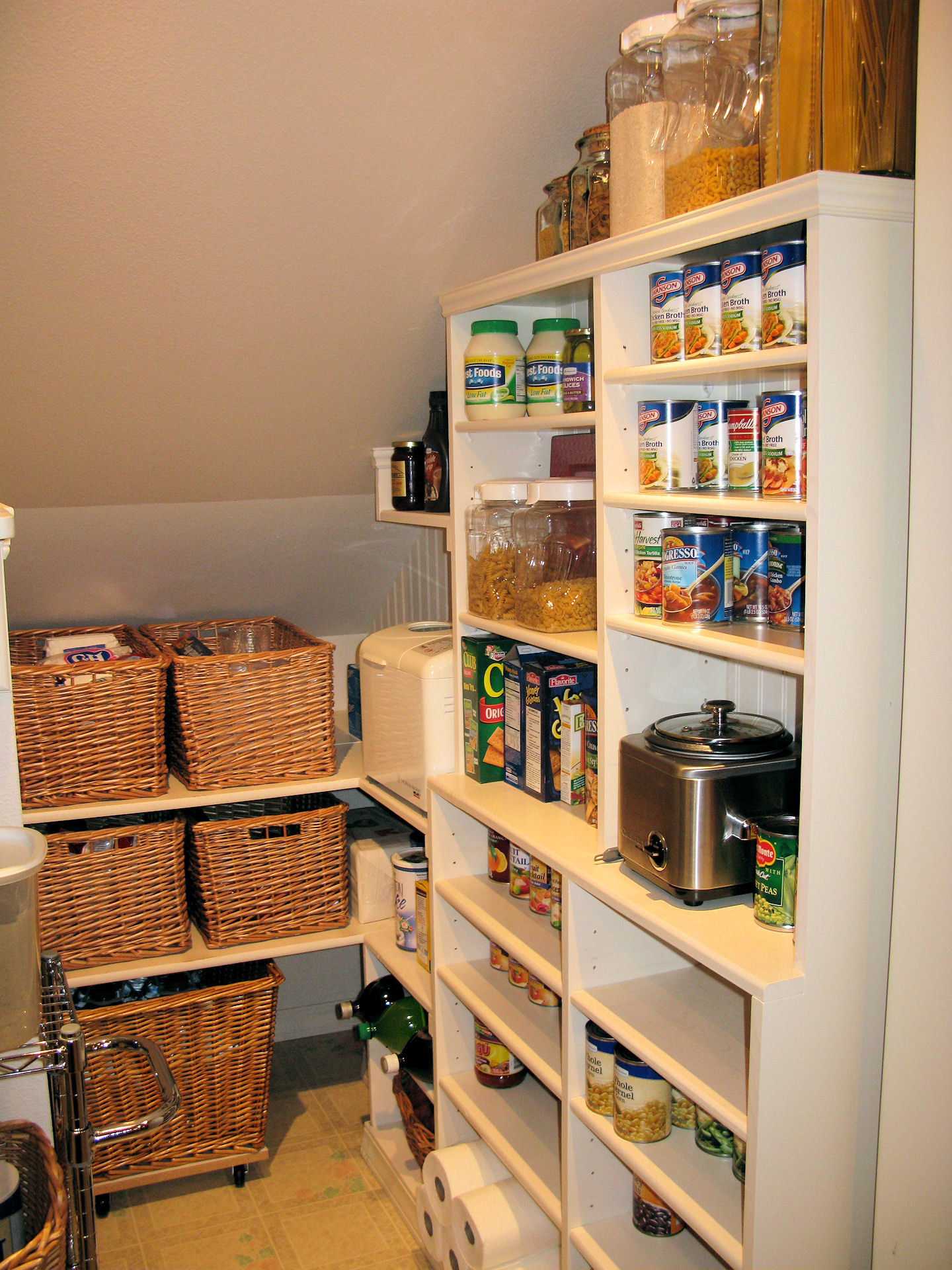 Cheap Shelving Storage Ideas For Walk In Pantry