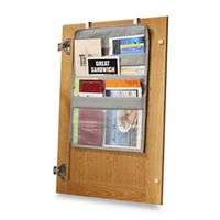 Over-The-Cabinet-Door Coupon Pockets. BB&B
