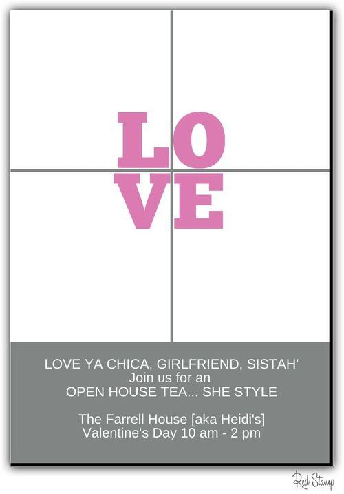 Love invite.