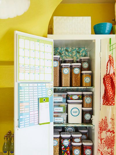 Pantry printables from BHG