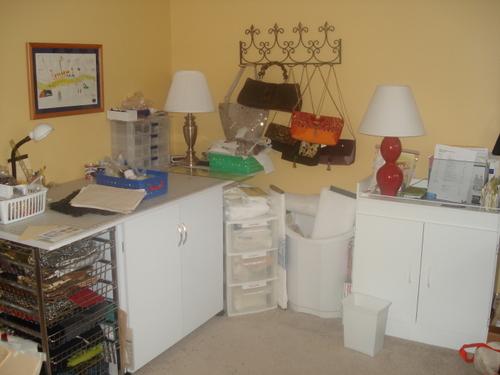 Jayne's Studio corner before